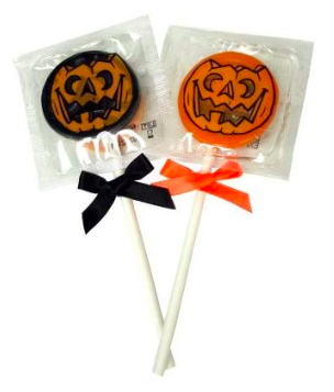 Halloween condoms that look like lollipops